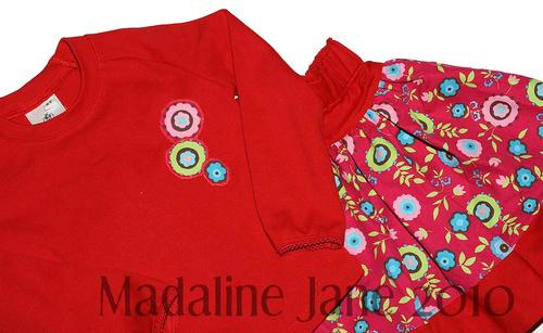 Holiday Circles Twirl Set Sz 2t