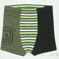 Punk in Green Boxers Sz 2t