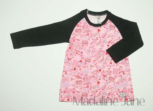 You Will...Love Forever Tunic Size 4
