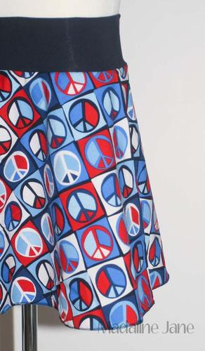 Yoga Waist Skirt :: Custom Size